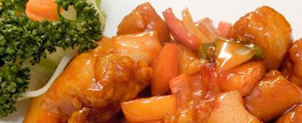 Fusion - Sweet and Sour Chicken